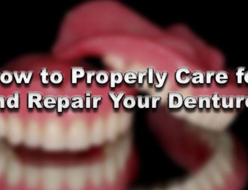 How to Properly Care for and Repair Your Dentures