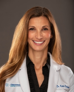 Dr. Katia Friedman - Co-Founder of OneSolution® Dental Implant Centers; General and Cosmetic Dentist.