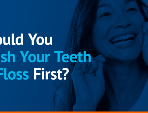 Should You Brush Your Teeth or Floss First?
