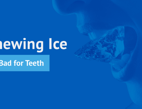Chewing Ice Is Bad for Teeth